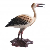Plastic Simulated Crane Model for Desk Decor Kids Educational Birds Figurines Toy