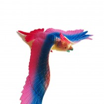 Plastic Simulated Colorful Parrot Model for Desk Decor Kids Educational Birds Figurines Toy