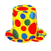 Clown Top Hat Party Costume Carnival Cap Halloween Hat Clown Hat Clown Cap