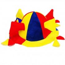 Clown Top Hat Halloween Hat Clown Hat Clown Cap Party Costume Carnival Cap