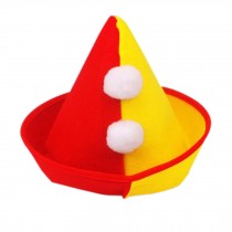 Halloween Hat Clown Cap Clown Top Hat Party Costume Carnival Cap Clown Hat