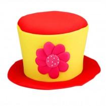 Clown Top Hat Party Costume Carnival Cap Clown Hat Clown Cap Halloween Hat