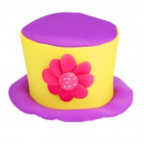 Party Costume Carnival Cap Halloween Hat Clown Cap Clown Top Hat Clown Hat