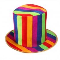 Clown Hat Clown Cap Clown Top Hat Party Costume Carnival Cap Halloween Hat