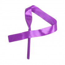 4 Pcs Dance Ribbon Dancing Props Kids Dance Streamers Gymnastics Ribbon- Purple