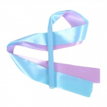 2 Pcs Dancing Prop Kids Dance Streamers Gymnastics Dance Ribbon/Light Blue&Lilac