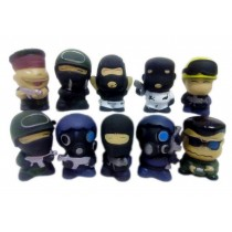 Counter-Strike Animated Cartoon Model Cute Version Doll Sets, Random Style