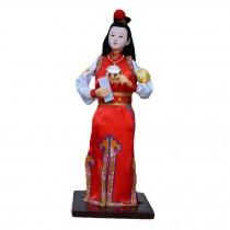 Silk Figurine Handmade Dolls Classical Dolls Chinese Characteristics-Jia Baoyu