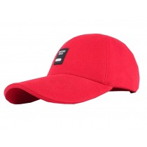 Outdoor Sports Men's Cap Baseball Cap Summer Breathable Sunscreen Hat Free Size(Red)